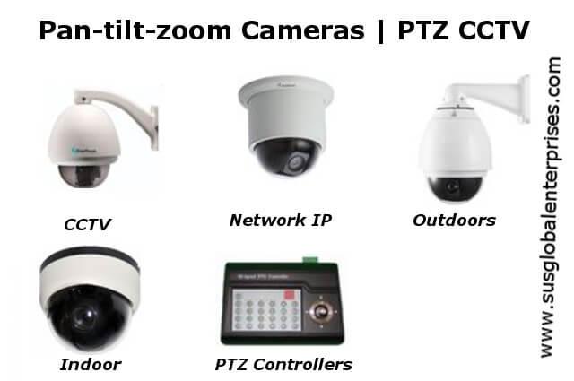 Cámaras Pan-Tilt-Zoom