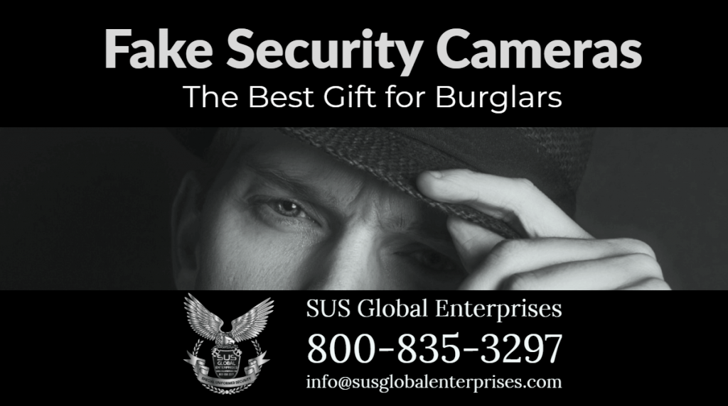 Fake Security Cameras, the Best Gift for Burglars