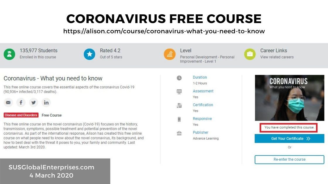 Coronavirus — Resources